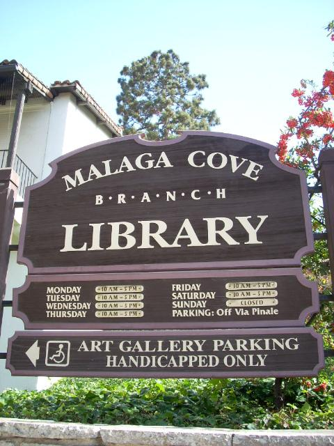 Malaga Cove Library in Palos Verdes Estates