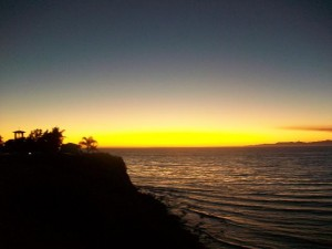 Malaga Cove Sunset  - Palos Verdes Estates