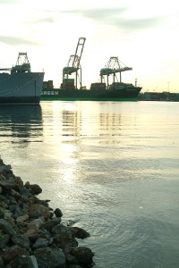 Port of Los Angeles @ Dawn Sunrise