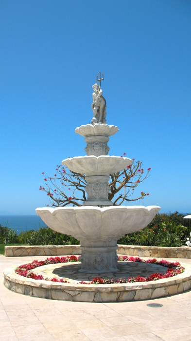Statue and Fountain at Trump National in Palos Verdes