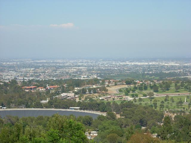 View of the Palos Verdes Reservoir