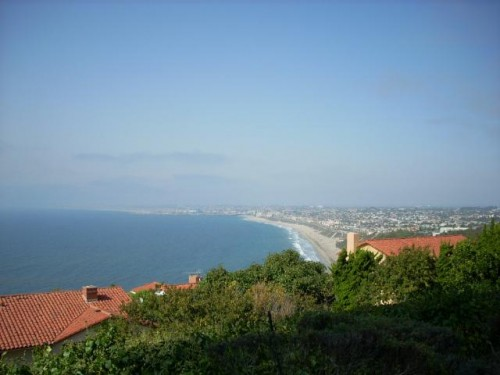 View of Torrance Beach from Malaga Cove