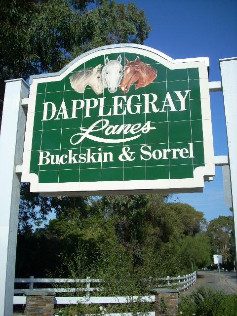 Dapplegray lanes in Rolling Hills Estates