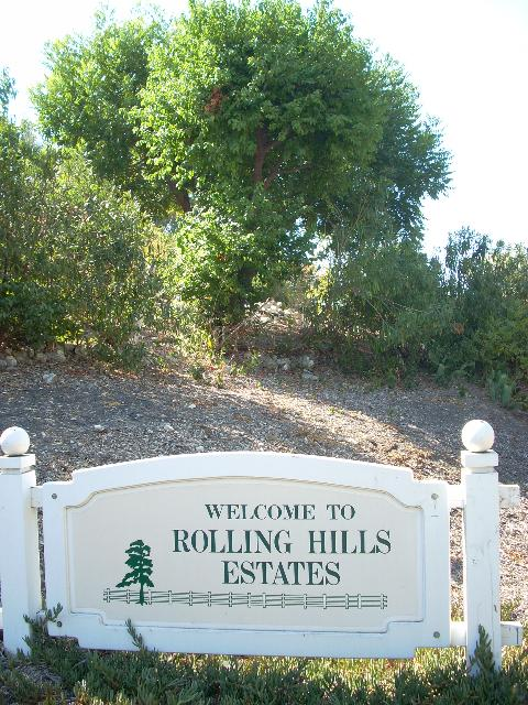 Rolling Hills Estates city sign (3)